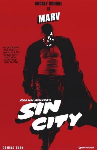 Sin City, ciudad del pecado Lámina maestra