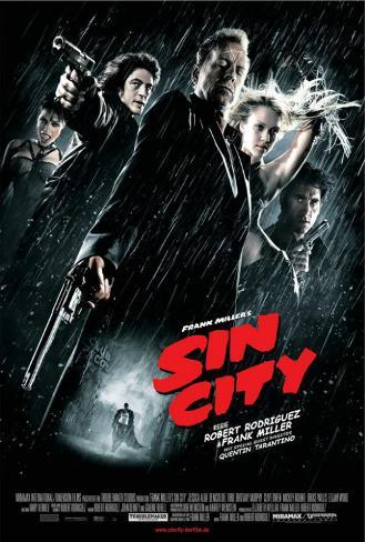 Sin City - German Style Poster