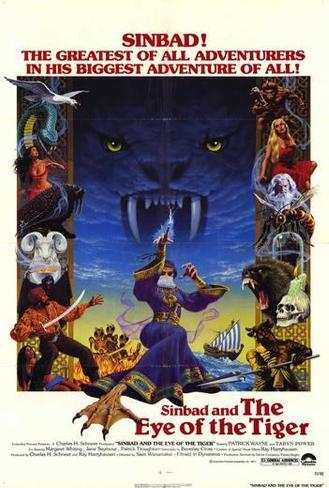 Sinbad and the Eye of the Tiger Poster