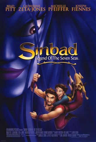Sinbad - Legend of The Seven Seas Double-sided poster