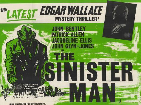 Sinister Man (The) Art Print
