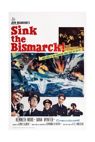 Sink the Bismarck! Giclee Print