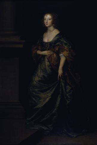 Portrait of Elizabeth Cecil, Countess of Devonshire, C.1639 Lámina giclée