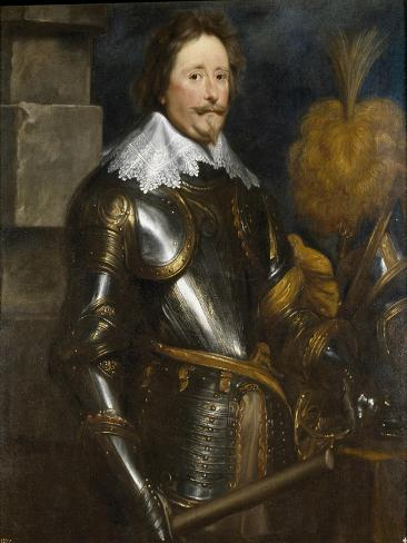 Portrait of Frederick Henry, Prince of Orange (1584-164) Lámina giclée