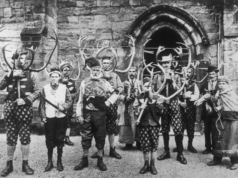 Abbots Bromley Horn Dance Photographic Print
