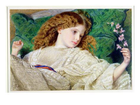 Dreams, C.1861 (W/C, Bodycolour and Gum over Graphite on Card) (See 133888) Giclee Print