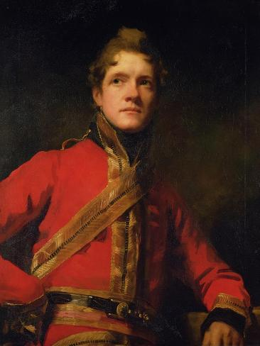 Lt. Col Morrison of the 7th Dragoon Guards Giclee Print