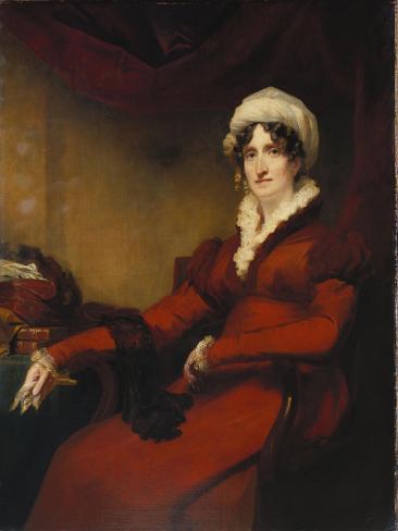Portrait of Mrs Elizabeth Stewart Richardson Giclee Print