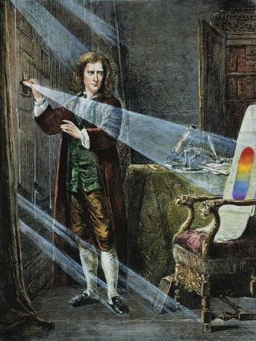 Sir Isaac Newton Giclee Print