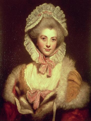 Countess Lavinia Spencer (1762-1831) 1781-2 Impressão giclée