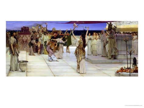 A Dedication to Bacchus, 1889 Giclee Print