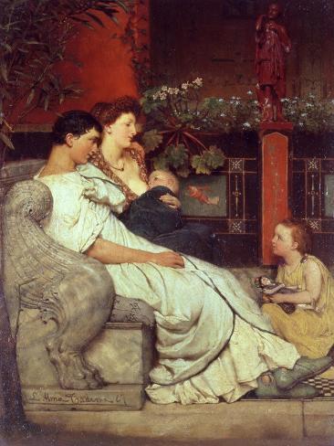 A Roman Family Giclee Print
