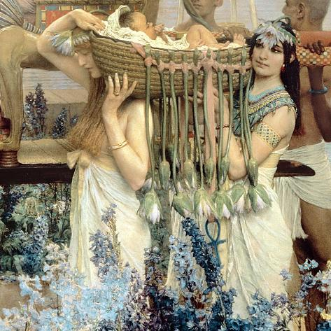 The Finding of Moses by Pharaoh's Daughter, 1904 (Detail) Giclee Print