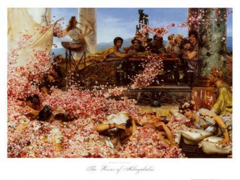 The Roses of Heliogabalus Art Print