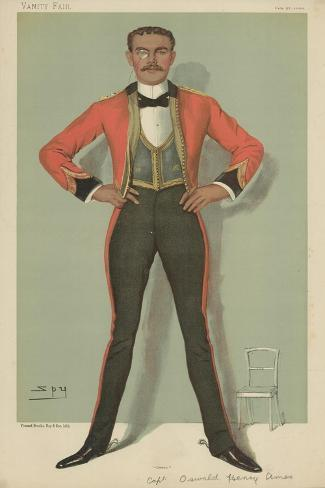 Captain Oswald Henry Ames Giclee Print