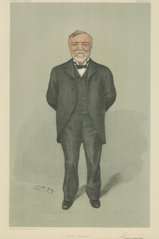 Mr Andrew Carnegie Giclee Print