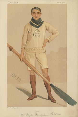 Mr Hugh Benjamin Cotton Giclee Print
