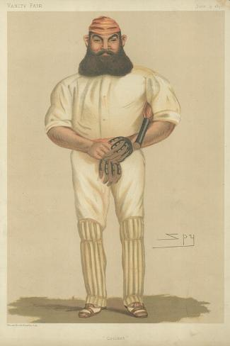 Mr William Gilbert Grace Giclee Print