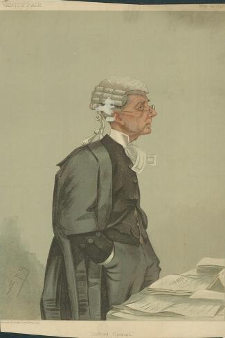 The Hon Sir Arthur Richard Jelf Giclee Print