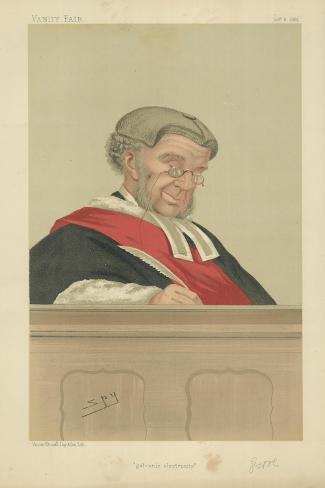 The Hon Sir William Robert Grove Giclee Print