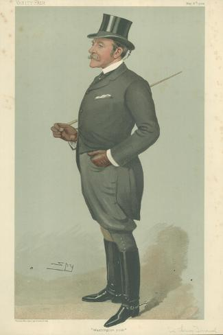The Right Hon Sir Henry Mortimer Durand Giclee Print