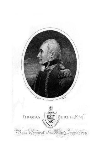 Sir Thomas Bertie Stampa giclée