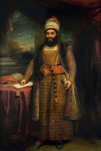 Portrait of Mirza Abul Hassan Lámina giclée