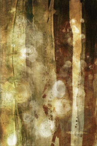 Golden Glow II Art Print