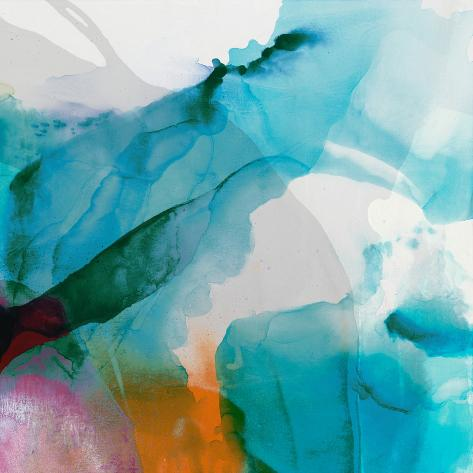 LA Abstract II Premium Giclee Print