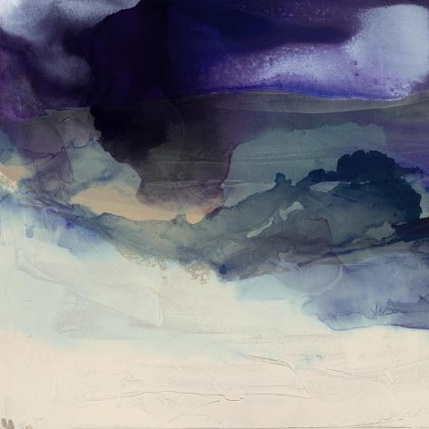 Purple Wunderlust I Art Print