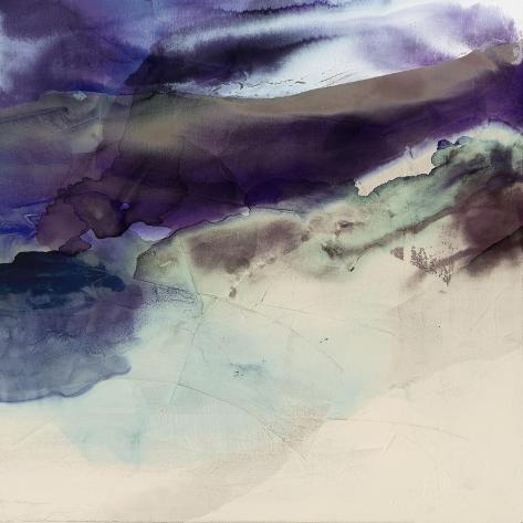 Purple Wunderlust II Art Print