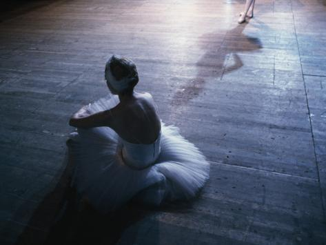 Ballet rehearsal, St. Petersburg, Russia Photographic Print