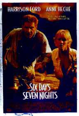 Six Days and Seven Nights Póster original
