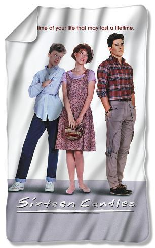 Sixteen Candles - Poster Fleece Blanket Fleece Blanket