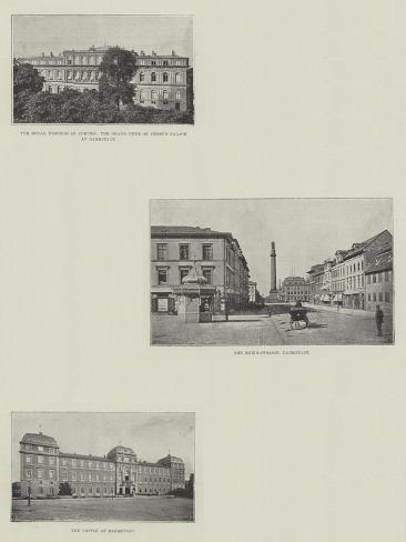 Sketches of Darmstadt Giclee Print