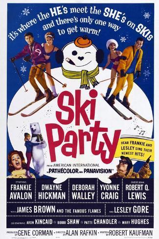 Ski Party, 1965 Art Print