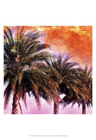 Hifi Palms I Art Print