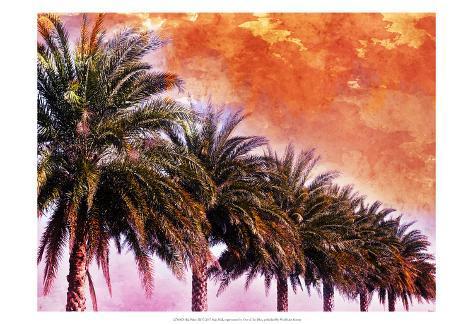 Hifi Palms III Art Print