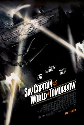 Sky Captain and the World of Tomorrow Double-sided poster