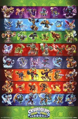 Skylanders Swap Force Grid Posters - AllPosters.ca