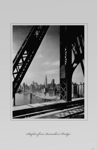 Skyline From Queensboro Bridge Masterprint