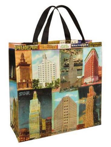 Skyscraper Shopper Bag Tote Bag