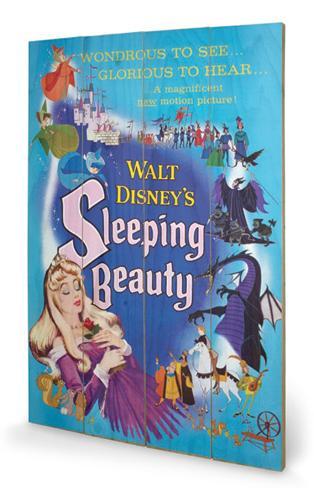 Sleeping Beauty - Glorious Wood Sign