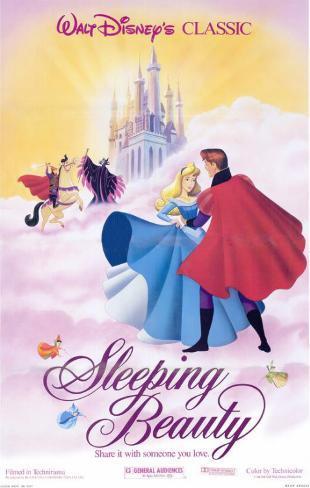 Sleeping Beauty Masterprint