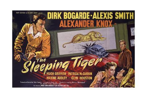 Sleeping Tiger (The) Art Print