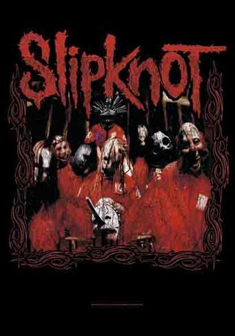 Slipknot Band 3 Fabric Poster