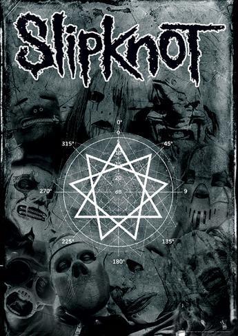 Slipknot (Pentagram) Music Poster Masterprint