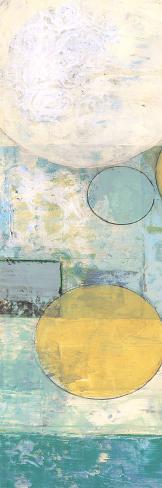 Aqua Circles 1 Art Print