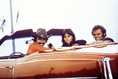 Smokey and the Bandit, Burt Reynolds, Sally Field, Jerry Reed, 1977 Photo