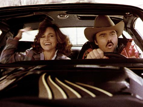 Smokey And The Bandit, Sally Field, Burt Reynolds, 1977 Photo